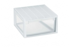 CAJA ORDENACION LIGHT DRAWER L 23L.TRANSPARENTE