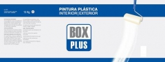 PINTURA PLASTICA INT/EXT.BOX PLUS BLANCO MATE 15KG
