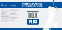 PINTURA PLASTICA INT/EXT.BOX PLUS BLANCO MATE 25KG