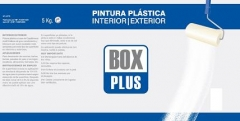 PINTURA PLASTICA INT/EXT.BOX PLUS BLANCO MATE 5KG